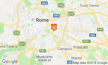 Kaart Rome Bed & breakfast 117444