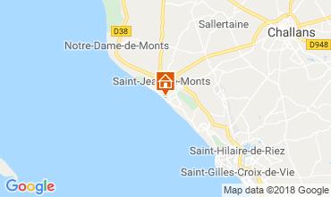 Kaart Saint Jean de Monts Appartement 81226