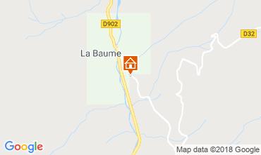 Kaart Saint Jean d'Aulps- La Grande Terche Chalet 59028