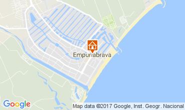 Kaart Empuriabrava Appartement 88574