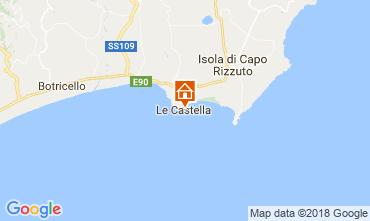 Kaart Le Castella Appartement 47005