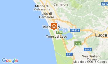 Kaart Viareggio Stacaravan 93402