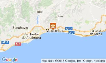 Kaart Marbella Appartement 84366