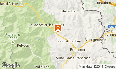 Kaart Serre Chevalier Chalet 57863
