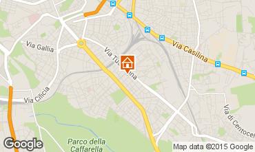 Kaart Rome Appartement 26345