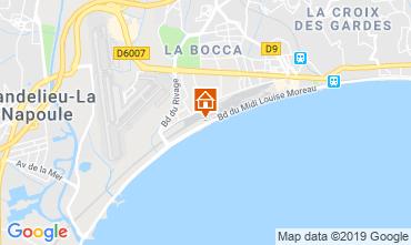 Kaart Cannes Appartement 118529