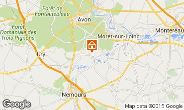 Kaart Fontainebleau Villa 76953