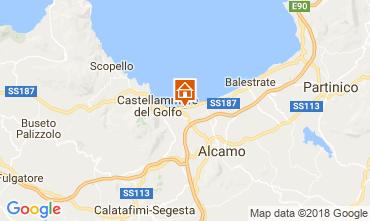 Kaart Castellammare del Golfo Huis 97356