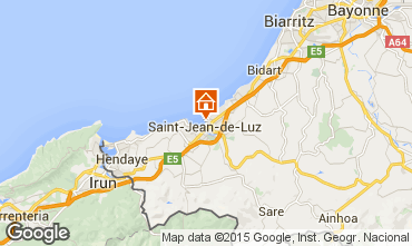 Kaart Saint Jean de Luz Studio 9304
