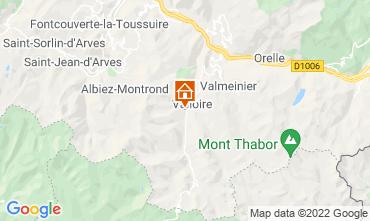 Kaart Valloire Vakantiehuis 31573