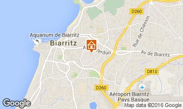 Kaart Biarritz Appartement 6396