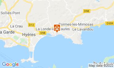 Kaart La Londe les Maures Appartement 68831
