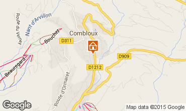 Kaart Combloux Chalet 896