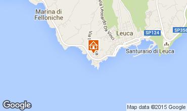 Kaart Santa Maria di Leuca Appartement 79689
