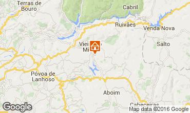 Kaart Vieira do Minho Vakantiehuis 38989
