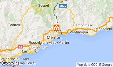 Kaart Menton Vakantiehuis 5408