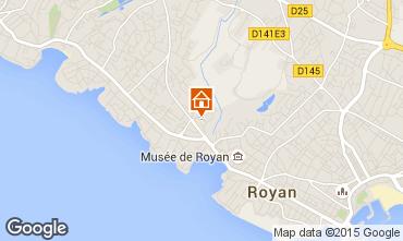 Kaart Royan Villa 6770