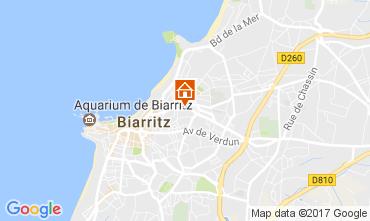 Kaart Biarritz Appartement 105192