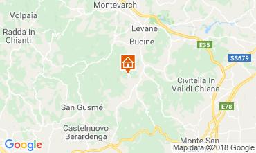 Kaart Arezzo Huis 117228