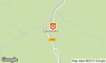 Kaart Cauterets Appartement 55364