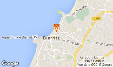 Kaart Biarritz Appartement 6363