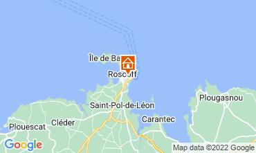 Kaart Roscoff Appartement 69746