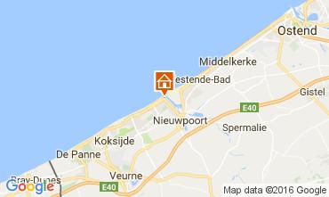Kaart Nieuwpoort Appartement 81674