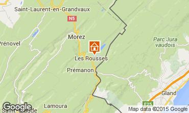 Kaart Les Rousses Appartement 73967