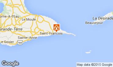 Kaart Saint Francois Villa 8020