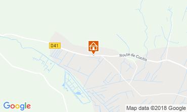 Kaart Saint-Julien-en-Born Stacaravan 116971