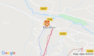 Kaart Morillon Grand Massif Chalet 40631