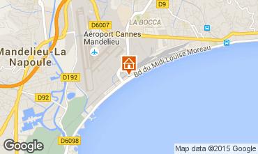Kaart Cannes Studio 5505