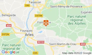 Kaart Fontvieille Vakantiehuis 118591