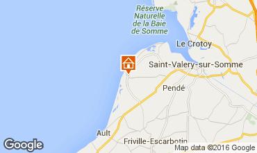 Kaart Cayeux-sur-Mer Huis 81293