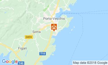 Kaart Porto Vecchio Appartement 116785