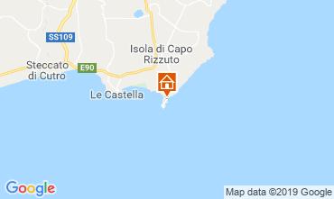 Kaart Isola di Capo Rizzuto Appartement 118989
