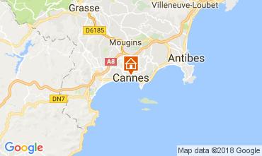 Kaart Cannes Appartement 106414