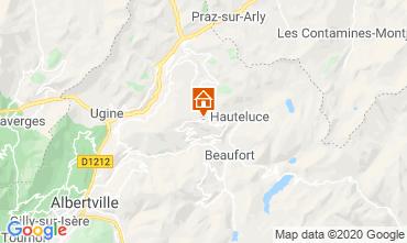 Kaart Les Saisies Appartement 23257