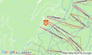 Kaart Les Arcs Appartement 116604