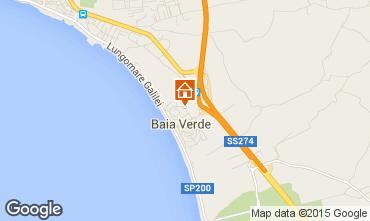 Kaart Gallipoli Appartement 99290
