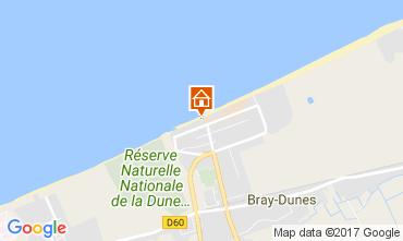 Kaart Bray-Dunes Appartement 105330