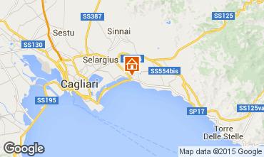 Kaart Cagliari Appartement 85499