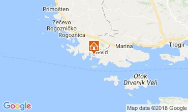 Kaart Trogir Huis 114405