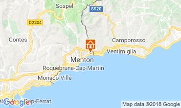 Kaart Menton Appartement 59052