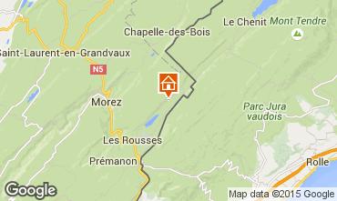 Kaart Les Rousses Appartement 3743