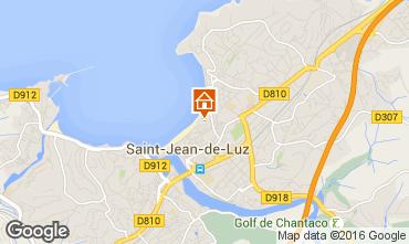Kaart Saint Jean de Luz Appartement 76153