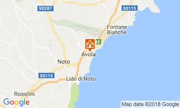 Kaart Avola Appartement 113937