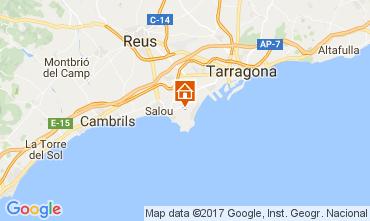 Kaart Salou Villa 107778