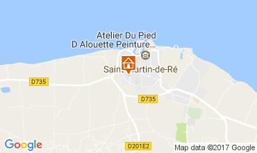 Kaart Saint Martin de Ré Huis 108028