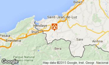 Kaart Saint Jean de Luz Appartement 9299